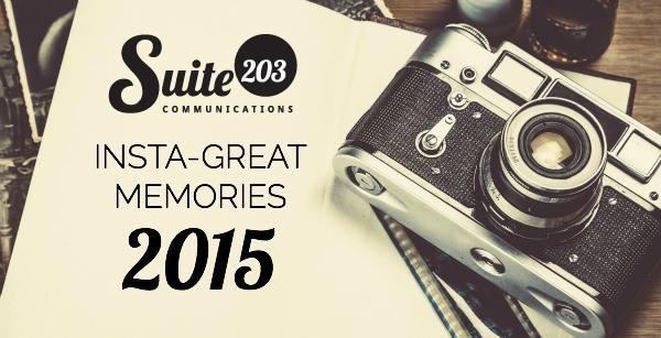 Suite 203's Instagram Memories 2015