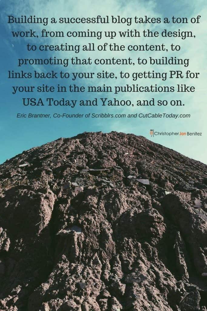 Eric Brantner Quote 1