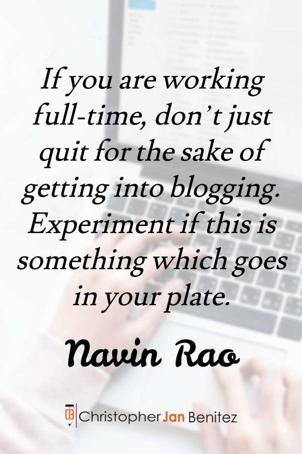 Navin Rao quote