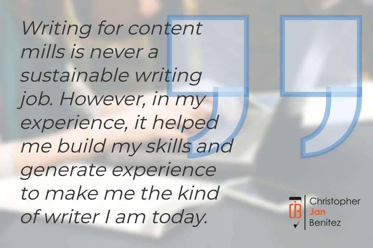 content mills quote